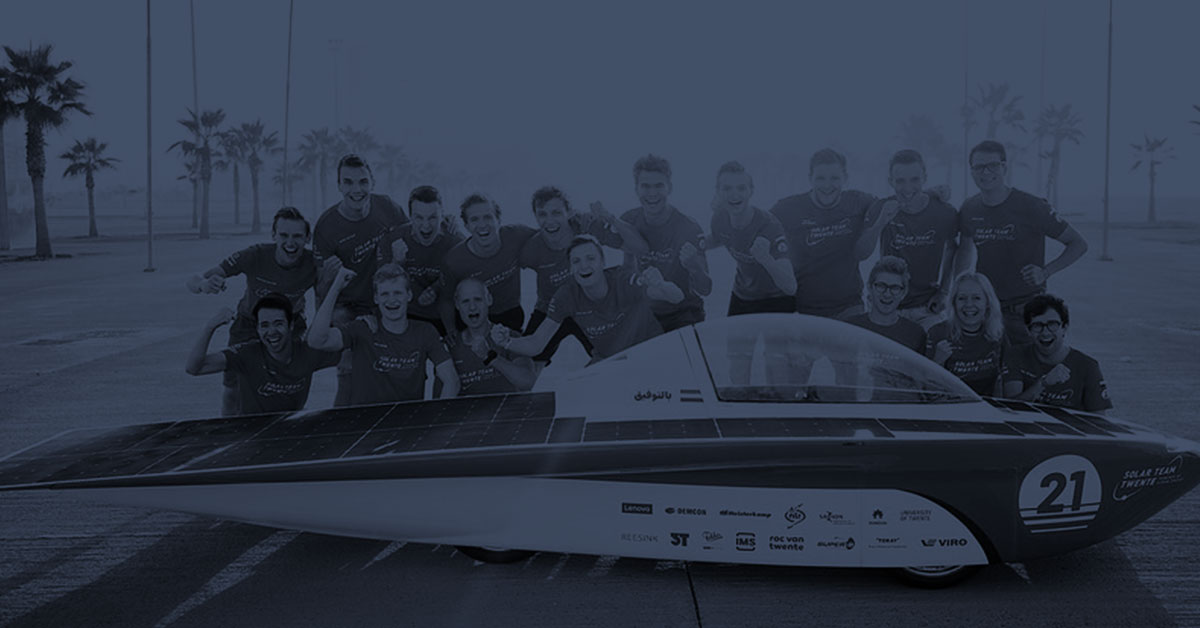 Pushing limits together with Solar Team Twente